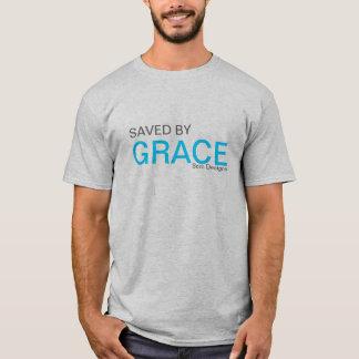 T-shirt Économisé par grâce