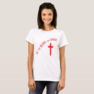 T-shirt Économisé par le sang
