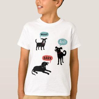 T-shirt Écorce Arf Woooo de Woof