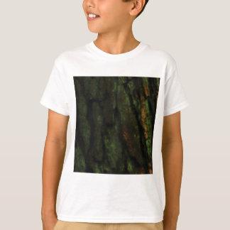 T-shirt écorce d'arbre verte