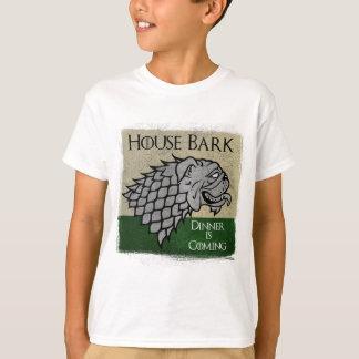 T-shirt Écorce de Chambre - le dîner vient