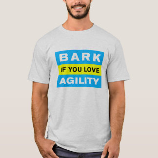 T-shirt Écorcez si vous aimez l'agilité