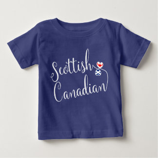 T-shirt écossais de coeurs d'Entwinted de Canadien