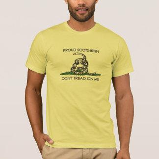 T-shirt Ecossais-Irlandais fier - ne marchez pas sur moi