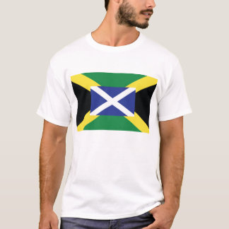 T-shirt Écossais jamaïcain