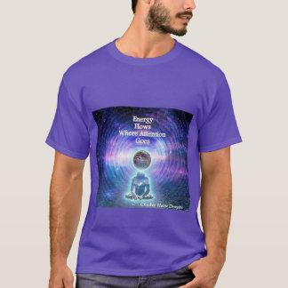 T-shirt Écoulements d'énergie où l'attention disparaît