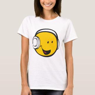 T-shirt Écouteurs Emoji