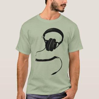 T-shirt Écouteurs tramés