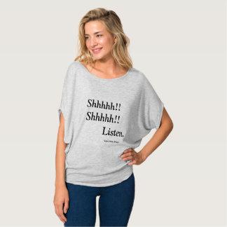 T-shirt Écoutez