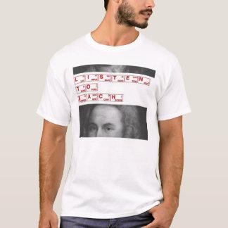 T-shirt écoutez le bach