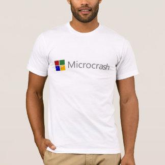 T-shirt Écran de Microcrash de logo de la mort