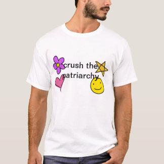 T-shirt écrasez le patriarcat
