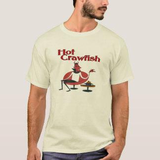 T-shirt Écrevisses chaudes avec le diable