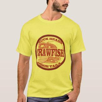 T-shirt Écrevisses de couverture de mètre d'eau