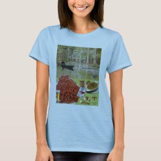 T-shirt Écrevisses de fin de support de pincement