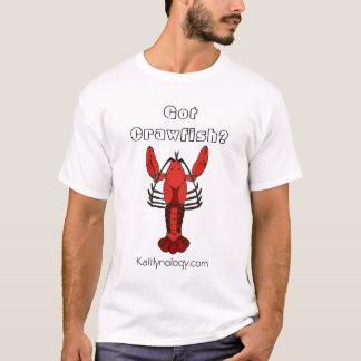 T-shirt Écrevisses obtenues ?