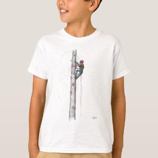 T-shirt Écrimage du présent de Stihl de chirurgien d'arbre
