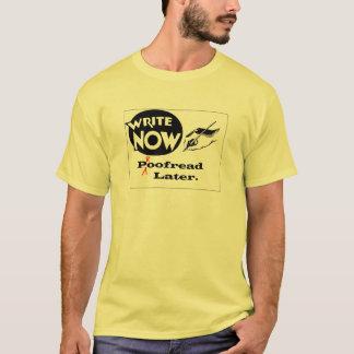 T-shirt Écrivez maintenant - corrigé sur épreuves plus