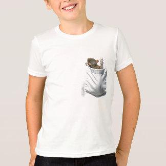 T-shirt Écureuil dans ma pièce en t de poche