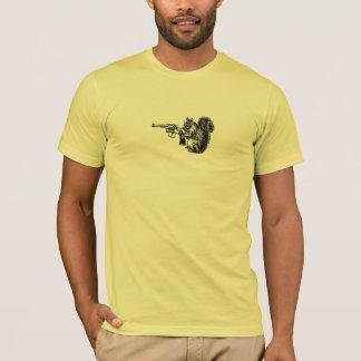 T-shirt Écureuil de pistolet