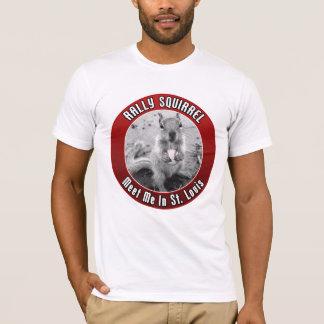 T-shirt Écureuil de rassemblement - rencontrez-moi en