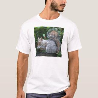 T-shirt Écureuil gris