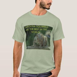 T-shirt Écureuils de la Caroline