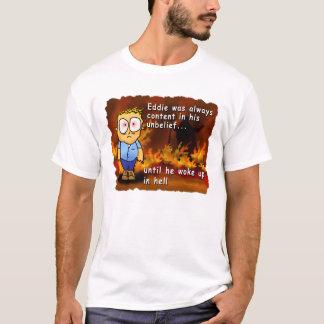 T-shirt Eddie se réveille dans l'enfer