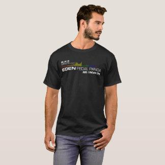 T-shirt Éden va à vélo la chemise de panda de pédale
