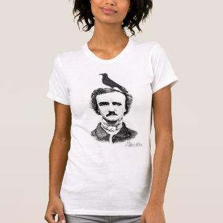T-shirt Edgar Allan Poe et corbeau