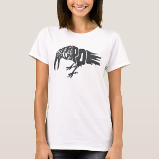 T-shirt Edgar Allan Poe - Raven