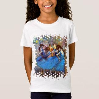 T-Shirt Edgar Degas - danseurs dans le bleu - amant de