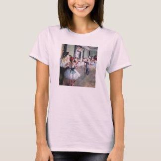 T-shirt Edgar Degas - la classe de danse