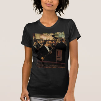 T-shirt Edgar Degas - l'orchestre d'opéra - art vintage