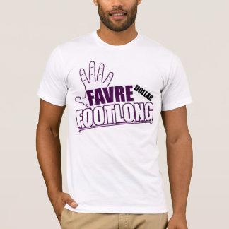 T-shirt Édition de Vikings de Footlong du dollar de Brett