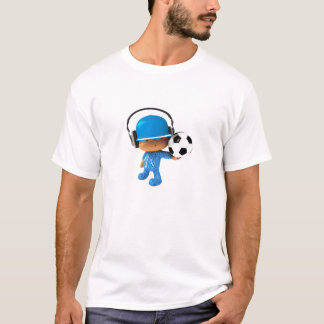 T-shirt Édition semi-transparente du football de superstar