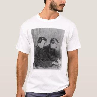 T-shirt Edmond de Goncourt et Jules de Goncourt