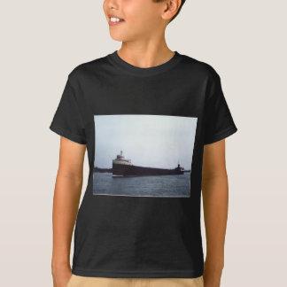 T-shirt Edmund Fitzgerald sur la rivière de St Clair