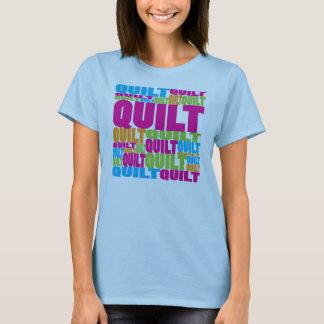 T-shirt Édredon coloré