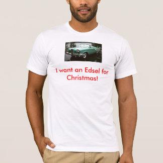 T-shirt Edsel pour Noël