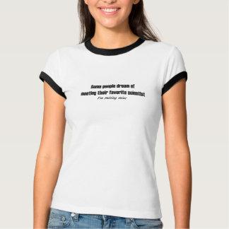 T-shirt Éducation de mon scientifique préféré