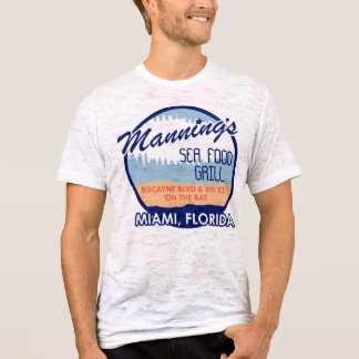 T-shirt Effectif de la chemise de Miami de fruits de mer