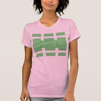 T-shirt effet de conception de Multi-panneau