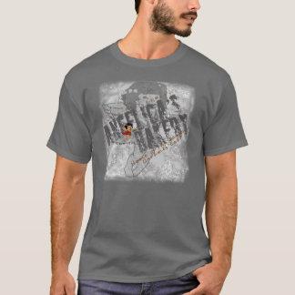 T-shirt Effort de noir de la boulangerie de l'angélique