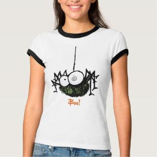 T-shirt effrayant de Halloween d'araignée
