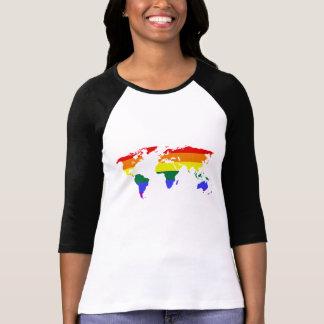 T-shirt Égalité d'arc-en-ciel