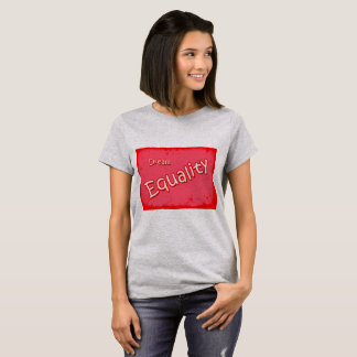 T-shirt Égalité rêveuse