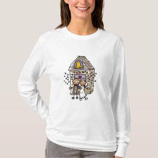 T-shirt Église de congé de jeunes mariés