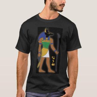 T-shirt égyptien d'Anubis de Dieu