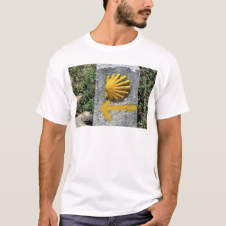 T-shirt EL Camino De Saint-Jacques-de-Compostelle,